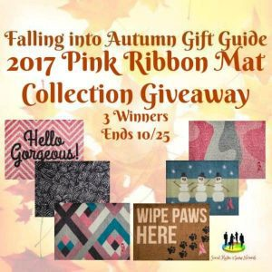 2017 Pink Ribbon Mat Collection Giveaway