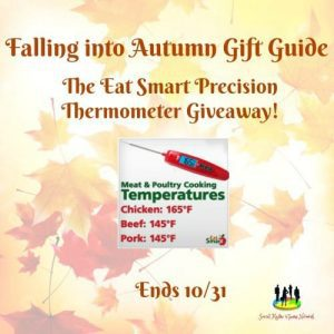 EatSmart Precision Thermometer Giveaway