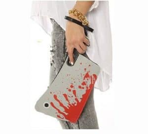 Halloween Bloody Cleaver Clutch Purse
