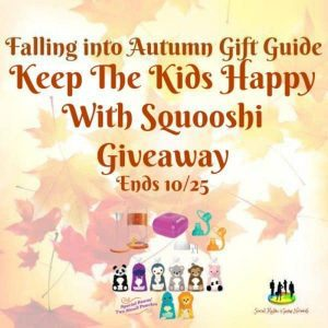 Keep The Kids Happy With Squooshi Giveaway