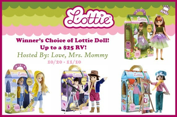 Lottie Doll Giveaway
