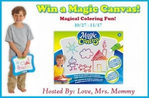 Magic Canvas Colorful Surprise Giveaway