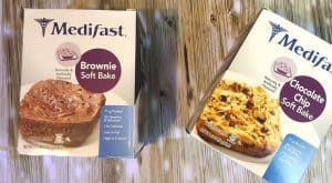 Medifast CHOCOLATE CHIP SOFT BAKE and BROWNIE SOFT BAKE