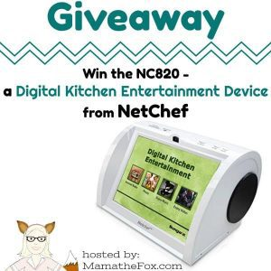 NetChef Digital Kitchen Assistant Giveaway