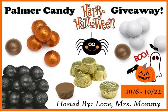 Palmer Candy Happy Halloween Giveaway