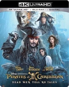 Pirates of the Caribbean: Dead Men Tell No Tales Digital Movie Giveaway