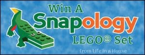 Snapology Alligator Lego Giveaway