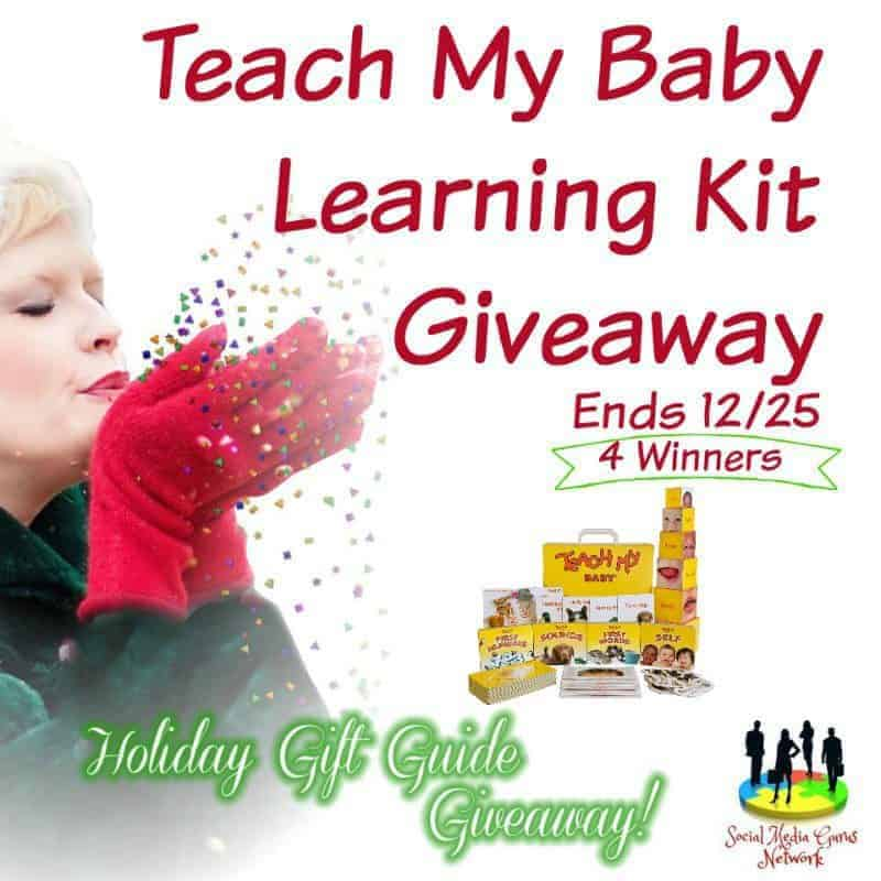 Teach My Baby Learning Kit Giveaway