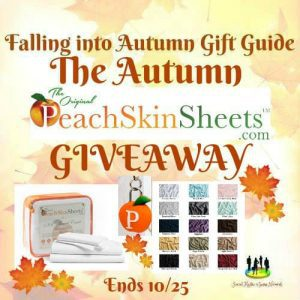 The Autumn PeachSkinSheets Giveaway