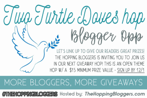 Two Turtle Doves Giveaway Hop
