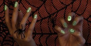 Coconut Nail Art's new limited-edition Halloween Glow-in-the-Dark collection