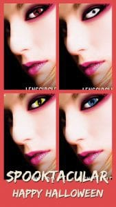 Lens Circle Exclusive Series Circle Contact Lenses for Daily Wear Halloween