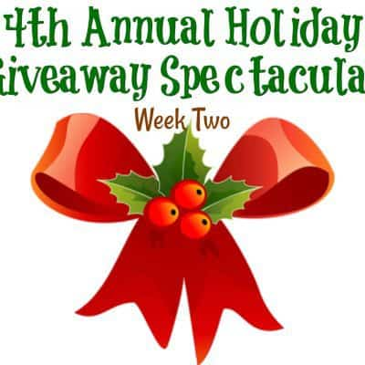 4th Annual Holiday Giveaway Spectacular: Week Two