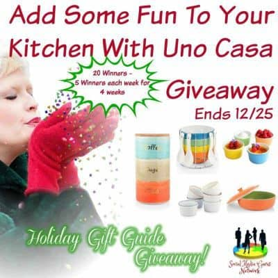 Add Some Fun To Your Kitchen With Uno Casa Giveaway (5-Winners)