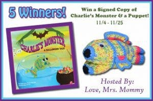 Signed Copy of Charlie's Monster & A Puppet Giveaway