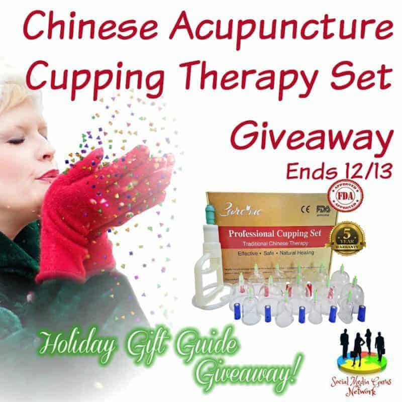 Chinese Acupuncture Cupping Therapy Set