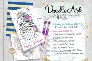 Doodle Art Greeting Cards By CraftyKizzy