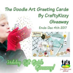 Doodle Art Greeting Cards By CraftyKizzy Giveaway