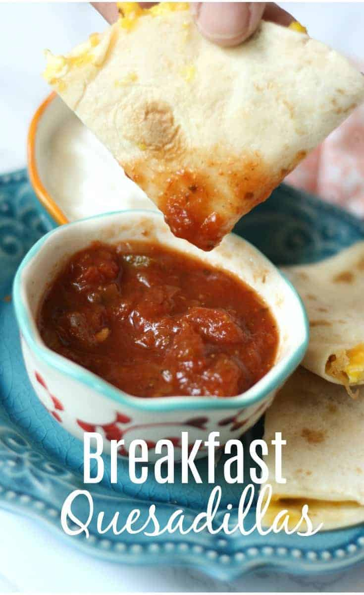 Eggland's Best Eggs Breakfast Quesadillas Recipe and Giveaway
