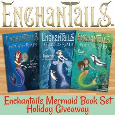 Enchantails Mermaid Book Set Holiday Giveaway (5-Winners)