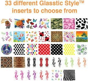 Glasstic Style Pattern Inserts
