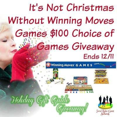 It's Not Christmas Without Winning Moves Games $100 Choice of Games Giveaway