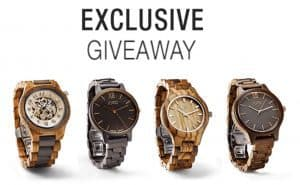 JORD Wood Watch Exclusive Giveaway