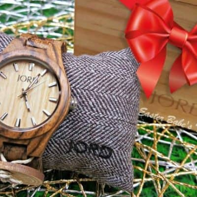 Give the Gift of Wood this Holiday Season! with JORD Wood Watch Fieldcrest Series + Coupon & Giveaway