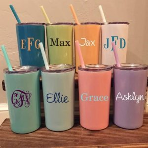 Jane Personalized Tumbler Cups