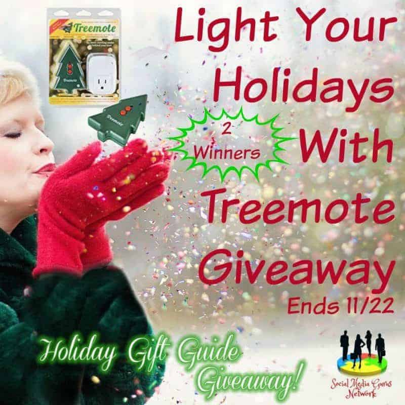 Light Your Holidays With Treemote Giveaway