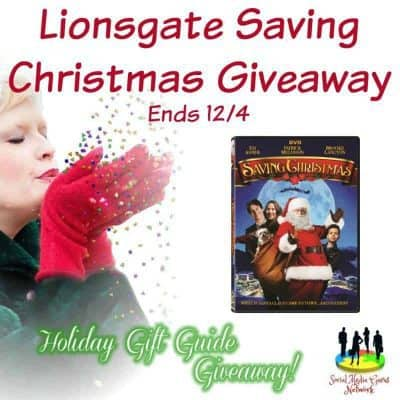 Lionsgate Saving Christmas Movie Giveaway