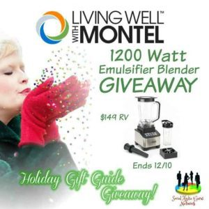 Living Well with Montel™ 1200 Watt Emulsifier Blender