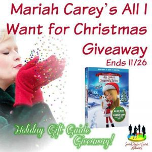 Mariah Carey's All I Want for Christmas Giveaway
