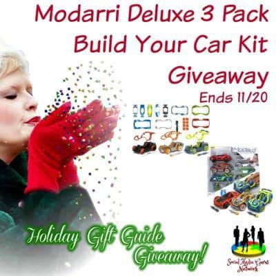 Modarri Deluxe Build Your Car Kit Giveaway