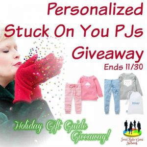 Personalized Stuck On You PJs Giveaway