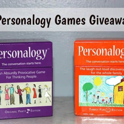 Personalogy Games Giveaway (2-Winners)