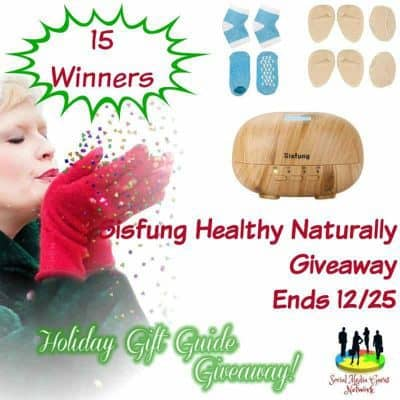 Sisfung Healthy Naturally Giveaway (15-Winners)