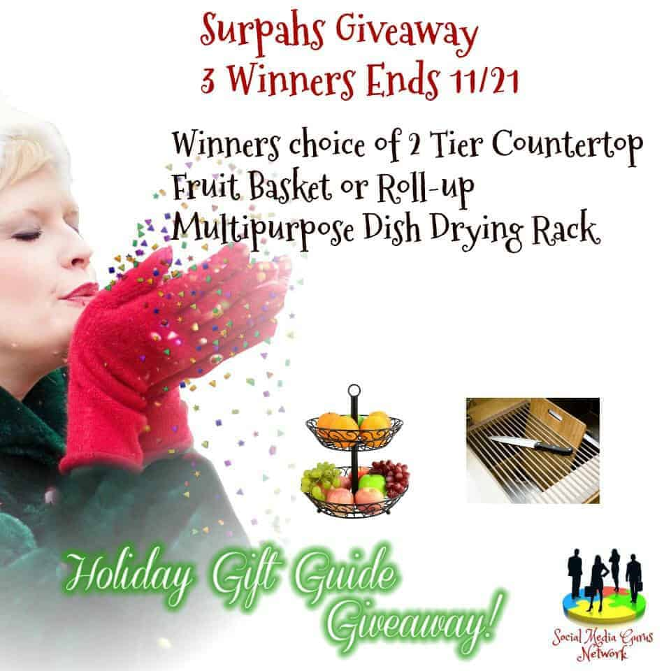 Surpahs Kitchen Accessories Giveaway