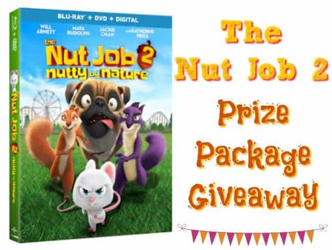 The Nut Job 2 Movie Prize Package