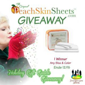 The PeachSkinSheets.com Holiday Giveaway