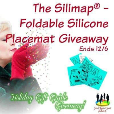 The Silimap Foldable Silicone Placemat Giveaway
