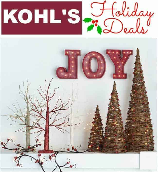 Kohl's Discounts and Coupon Codes for 2017 Holidays Online and Store Coupon Codes