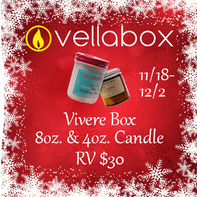 Vellabox Vivere Candle Box