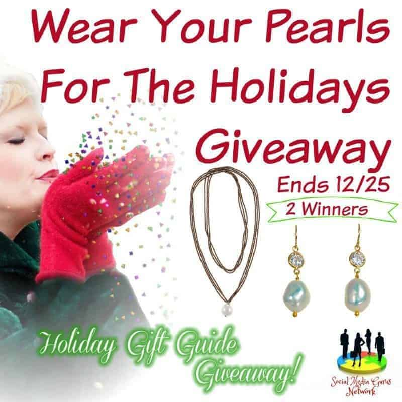 Wear Your Pearls For The Holidays Giveaway