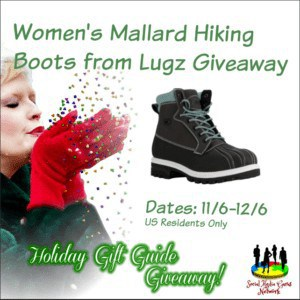 Women's Mallard Hiking Boots from Lugz Giveaway
