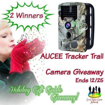 AUCEE Tracker Trail Camera Giveaway (2-Winners)