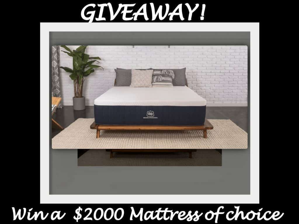 Brooklyn Bedding Blog Mattress Giveaway Event