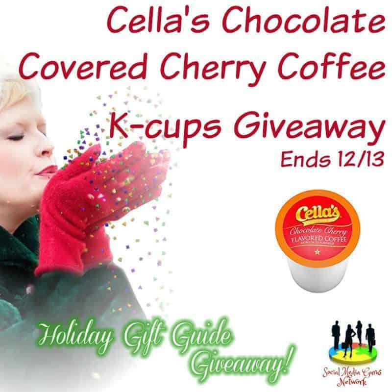 Cella's Chocolate Covered Cherry Coffee K-cups Giveaway