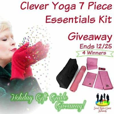 Clever Yoga 7 Piece Essentials Kit Giveaway (4-Winners)