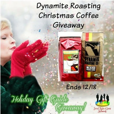 Dynamite Roasting Christmas Coffee Giveaway
